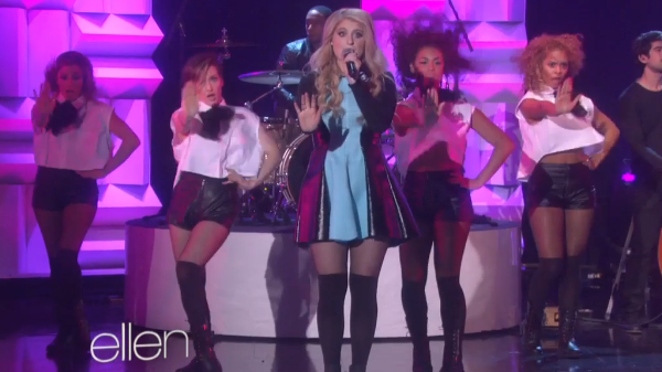 Meghan Trainor on Ellen