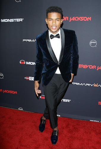 Trevor Jackson 18th Birthday bash