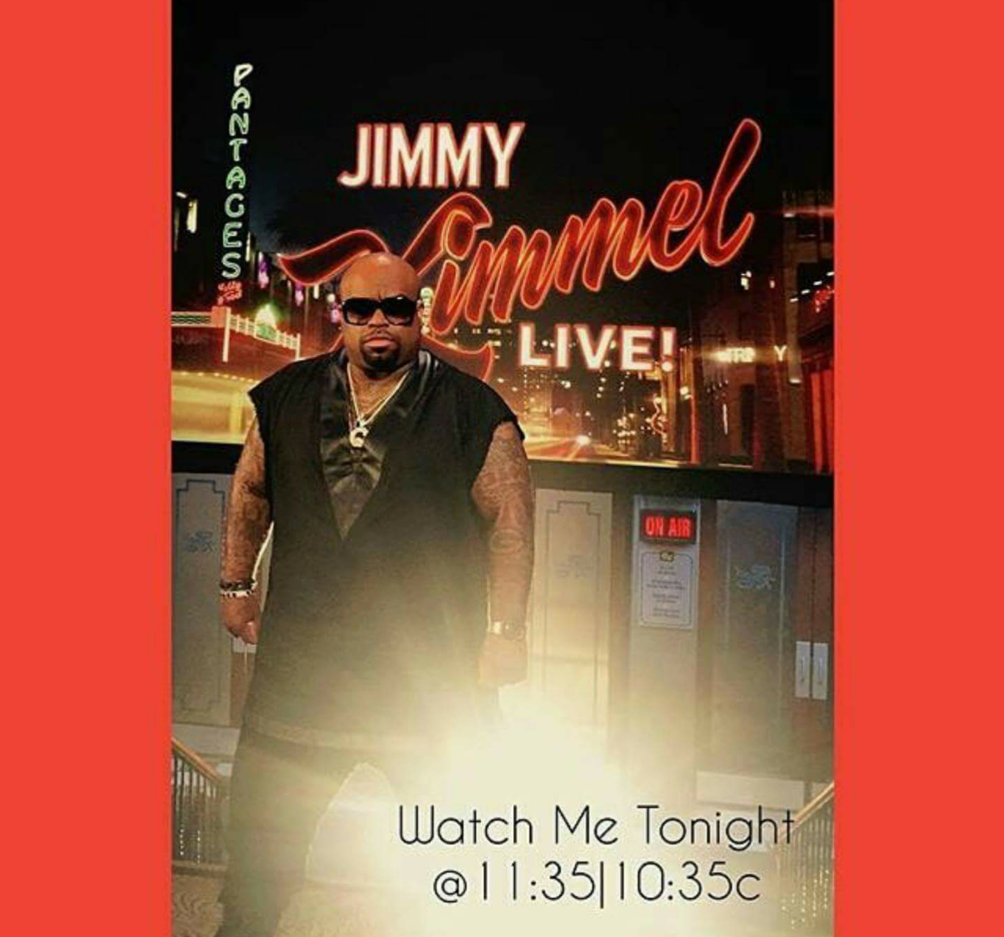Ceelo Green Jimmy Kimmel