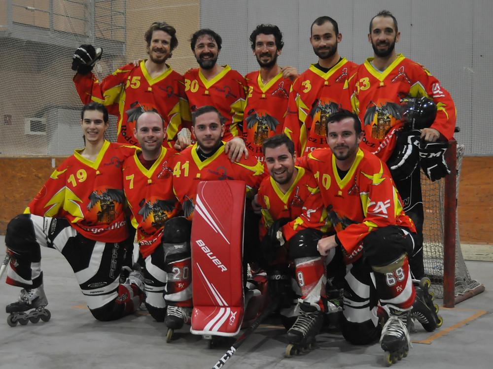 Equipe N4 saison 2020/2021 Les Gargouilles Rodez Roller Hockey