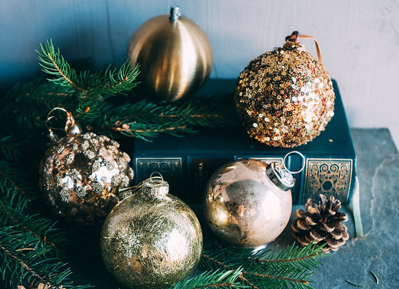 Christmas Box - Oro