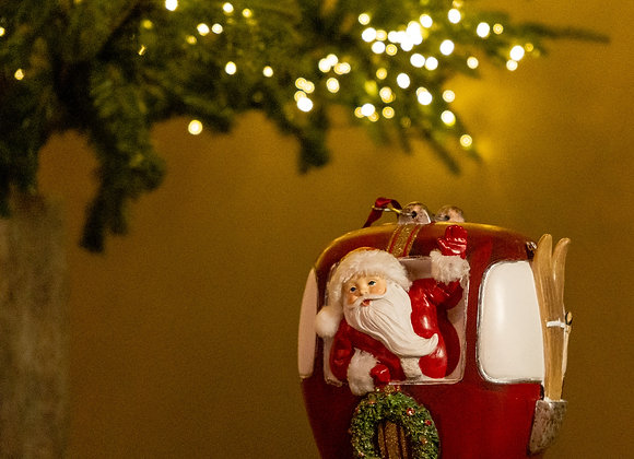 Babbo Natale seggiovia