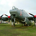 Avro Shackleton WR963 in AEW colours at Coventry under SPT