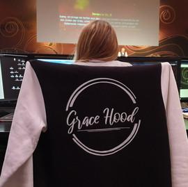 Grace Hood bei der Arbeit