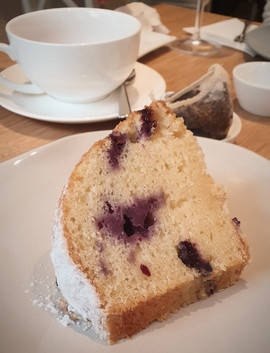Blueberry Cake- Afternoon Tea