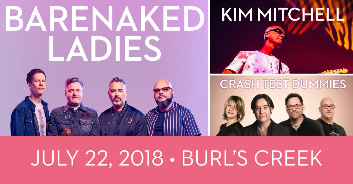 Barenaked Ladies at Burl's Creek