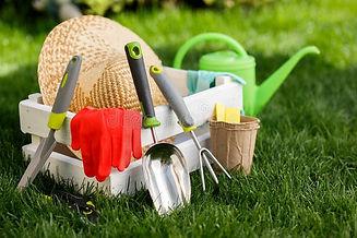 gardening-tools-gloves-straw-hat-white-w