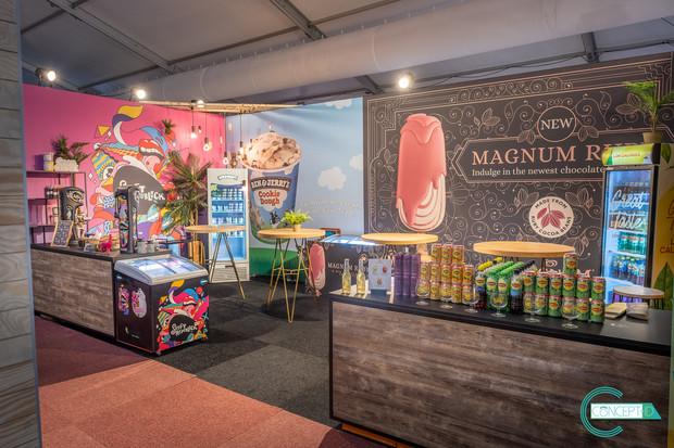 Unilever stand horecabeurs Bredene