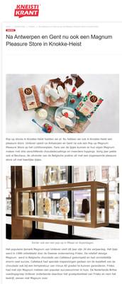 Magnum Pleasure Store Knokke