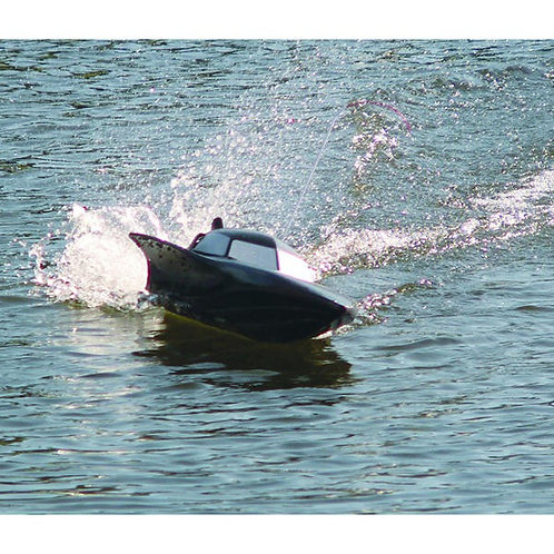SYMA - DOUBLEHORSE BLACK STEALTH R/C PERFORMANCE RACING SPEED BOAT