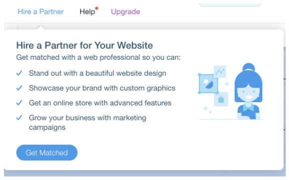 You can hire a Wix SEO expert anytime