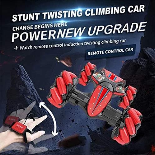 Remote Control Stunt Car, Christmas 2.4G 4WD Stunt RC Car Gesture Sensing Twisti