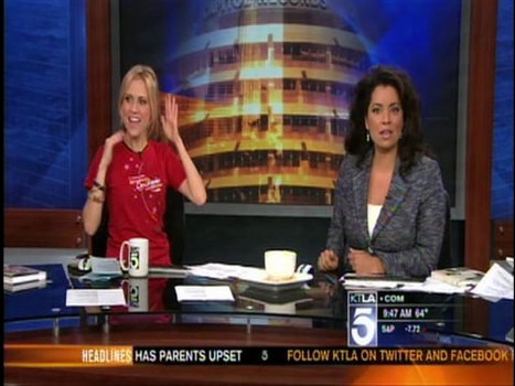 KTLA 5 pre LA Fashion Weekend Segment