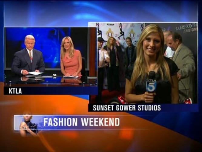 LA Fashion Weekend and Kelli Nishimoto live on KTLA 5