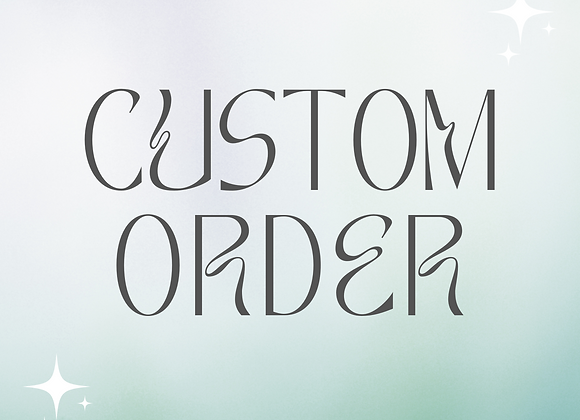 Custom Order for Aicy