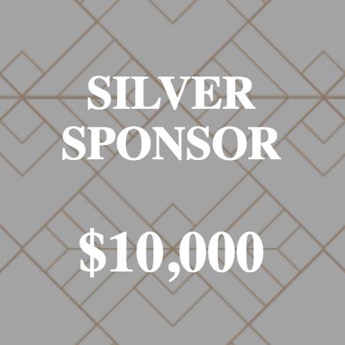 CORPORATE SPONSOR - SILVER SPONSOR $10,000