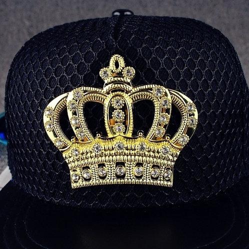 BLACK SWAG CAP
