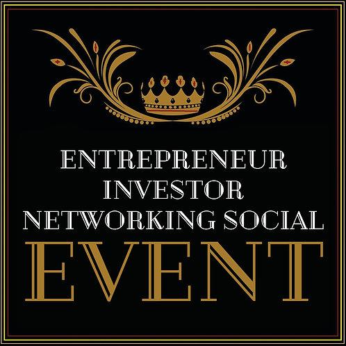 ENTREPRENEUR INVESTOR NETWORKING SOCIAL EVENT