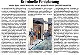 Juwelier überfallen Maximilianstrasse