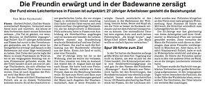 """Lebenslange Haft für """"Torso-Mörder"""""""
