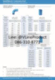 ข้อต่อpvc ข้อต่อพีวีซี อุปกรณ์สีฟ้า SCG น้ำไทย - 5