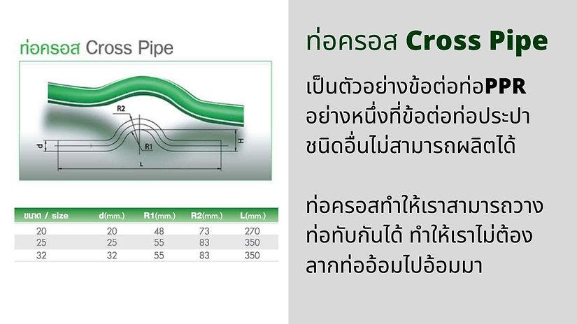 ท่อPPR ครอส PPR Cross Pipe.jpg