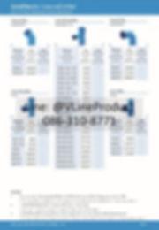 ข้อต่อpvc ข้อต่อพีวีซี อุปกรณ์สีฟ้า SCG น้ำไทย - 13