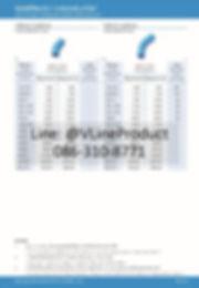 ข้อต่อpvc ข้อต่อพีวีซี อุปกรณ์สีฟ้า SCG น้ำไทย - 9