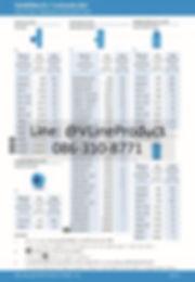 ข้อต่อpvc ข้อต่อพีวีซี อุปกรณ์สีฟ้า SCG น้ำไทย - 2
