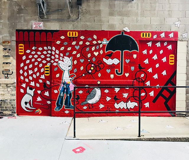 My mural is done. Please check it out in