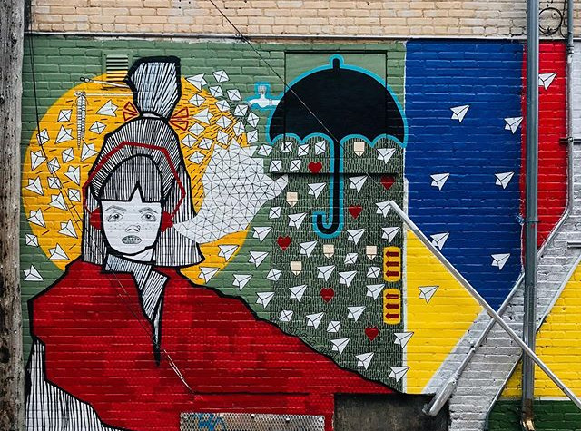 My mural is DONE! Please check it out lo