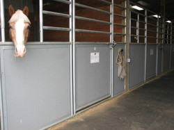 Stall front