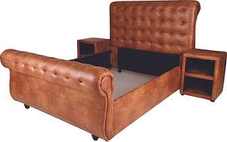 Buffalo Sleigh Bed - Camel.jpg