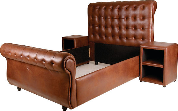 buffalo brown sleigh bed.jpg