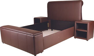 Sleigh Bed - Blanket Box Brown.jpg