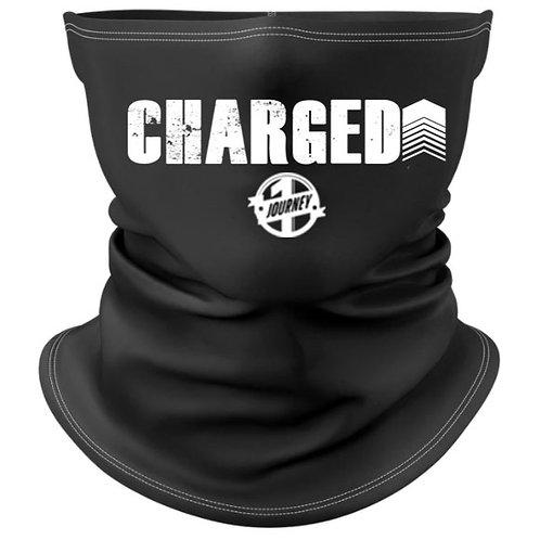 Charged Up Black Gaiter Mask