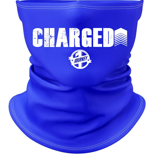 Charged Up Blue Gaiter Mask