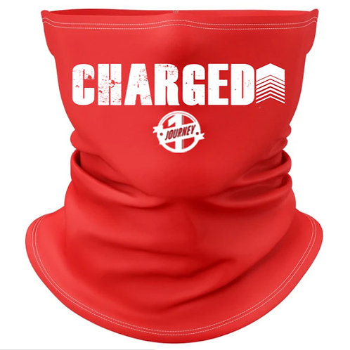 Charged Up Red Gaiter Mask