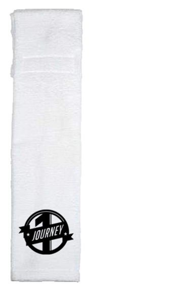 White One Journey Sports Towel