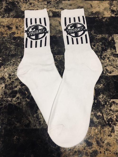 One Journey Socks (White)