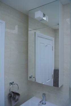Wall mirror cabinet