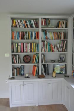 Handmade Painted Bookshelf