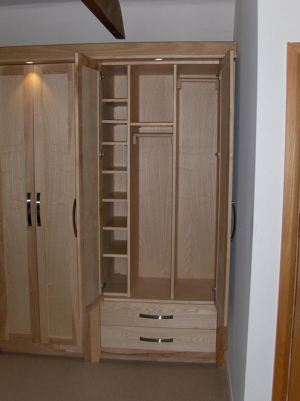 Solid Ash Bedroom Furniture Inwood Design Handmade Bedrooms