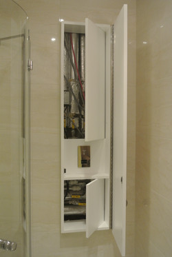 Tall wall cabinet