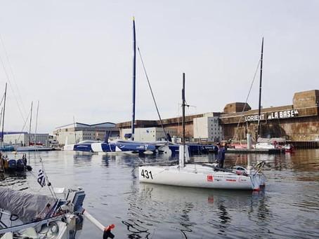 Pep breaks mast in Fastnet Race