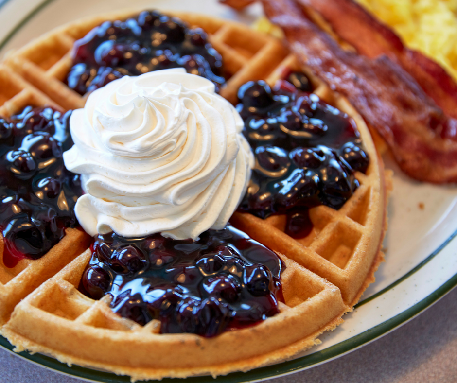 Blueberry Waffle | Country Waffles
