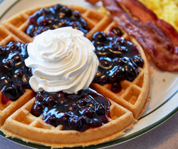 Blueberry Waffle | Country Waffles