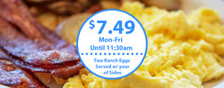 $7.49 Breakfast Special