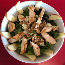 Chicken, Apple & Blue Cheese Salad