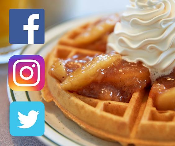 Follow us on Social Media!